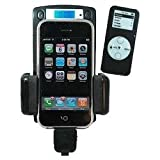 7 in 1 205 Channels iPod FM Transmitter Car Kit With Remote Controller for Apple iPhone, iPhone 3G, iPhone 4G, all iPod Nano, iPod Touch, iPod Classic and other iPod Players