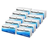 HornseaToners 05A / 10 Pack of New Compatible Toner Cartridges, Replaces HP CE505A, 10 Black Laser Laserjet Toners for HP Printers