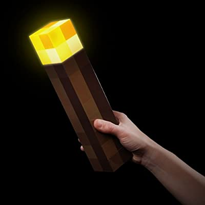 Minecraft Light-up Torch by ThinkGeek