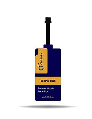 Chip Recividor de Cargador  Qi-infinity inalámbrico ultra delgado para iPhone 6s Plus y 6 Plus