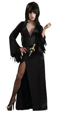 Elvira Men's Costume Adult Halloween Outfit ?