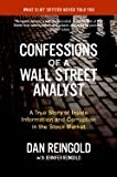 img - for Confessions of a Wall Street Analyst : A True Story of Inside Information and Corruption in the Stock Market book / textbook / text book