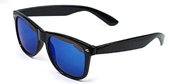 Outray Retro Reflective Unisex Wayfarer Sunglasses 8025 Blue