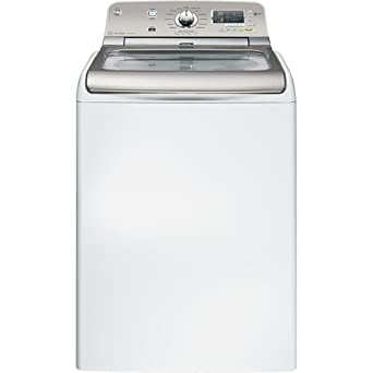 GE GTWN8250DWS 4.8 Cu. Ft. White Top Load Washer - Energy Star