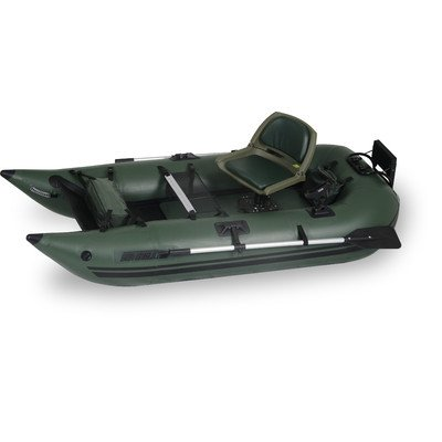 Inflatable boat fishing full reviews sea eagle 285fpb for Inflatable pontoon boat fishing