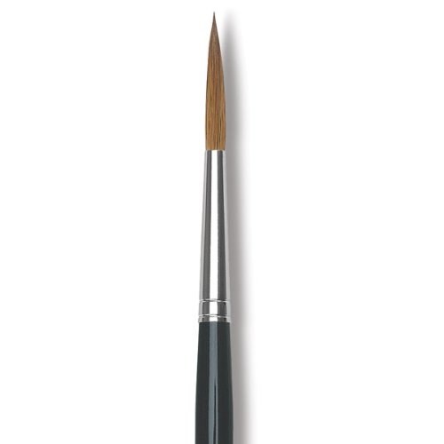 Da Vinci Series 1200K Maestro Kolinsky Red Sable Liner/Rigger Brush, Medium, Size 4 front-76533