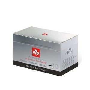 Find illy Caffe Dark Roast Coffee Pods 18 Count Single Serving Travel  by Harold Import CO