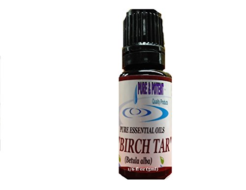 Birch Tar Essential Oil front-58434