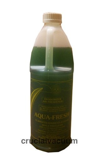 Aqua Fresh Deodorizer and Air Freshener for Rainbow Vacuum Vacuum Cleaners D 32oz; Neutralize odors in your home with a small amount in your water basin