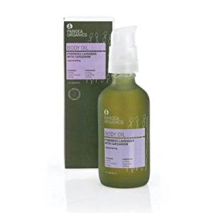 Pangea Organics Massage & Body Oil - Pyrenees Lavender with Cardamom Bath Oils from Pangea Organics