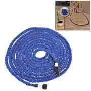 Durable Flexible Dual-layer Water Pipe Water Hose, Length: 5.7m (US Standard)(Blue)