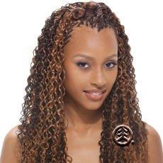 "Amazon.com: Model Water Wave Bulk Human Hair 18"" Color: FF1B/33 ..."