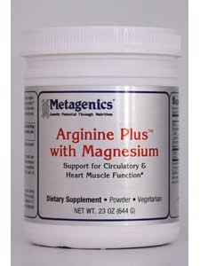 Metagenics Arginine Plus w/Magnesium powder (28 servings)