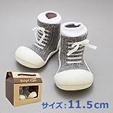 ベビーシューズ Baby feet ベビーフィート ラバー底ソックス SNEAKERS ( 11.5cm , スニーカー Gray グレー )