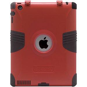 Trident Kraken II Hybrid Case for iPad 2 (KKN2-IPAD-2-RD)