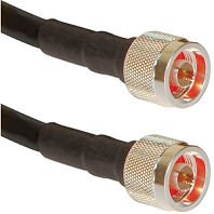 Times Microwave Lmr-400 Coaxial Cable Antenna Coax Transmission Line 40 Ft Us Made For Ham And Commercial Rf Radio With N Male Connectors