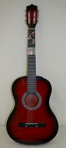 38%22+Cherry+Sunburst+Acoustic+Guitar+-+BRAND+NEW