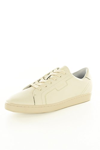 Guess Jeans Baskets/Sport-fmall4lea12-Uomo, bianco (bianco), 44