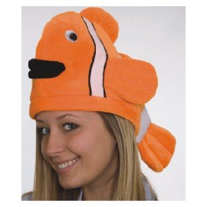 Adult Funny Clown Fish Hat
