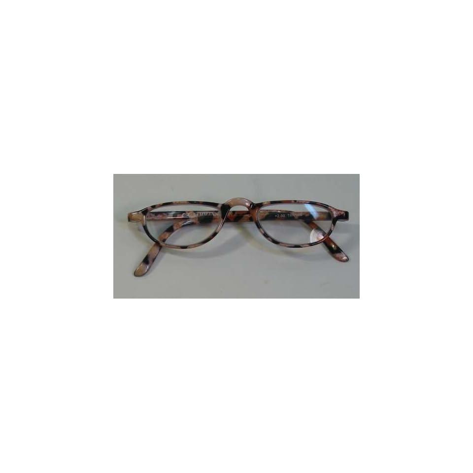 91f8748522 Sammann +2.00 Reading Glasses Animal print Faux Fur on PopScreen