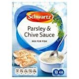 Schwartz Parsley & Chive Sauce Mix For Fish 38G