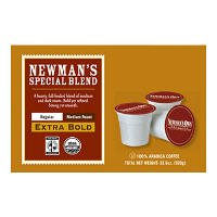 newmans own coffee