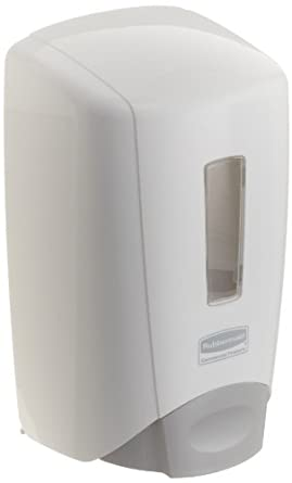 Rubbermaid Commercial 3486589 Flex Wall-Mounted Hand Soap/Cleanser/Lotion /Santizer Dispenser System, Dispenser, White