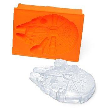 <p>Molde de silicona para hacer la figura del halc&oacute;n milenario</p>