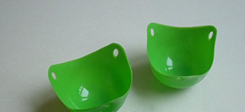 how to cook poached eggs in silicone cups