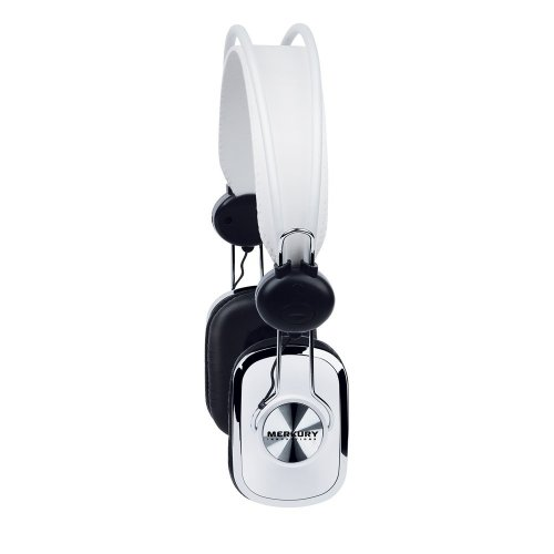 Merkury Innovations Retro Series Headphones - White (M-Hr100)