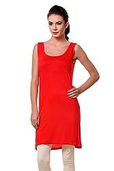 TeeMoods Womens Night Shirt Top_TM-1613RED-M