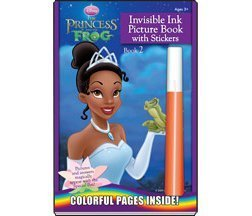 The Princess and the Frog Magic Pen Painting Book 2