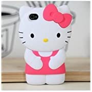 Dream Skin 3d Hello kitty Silicone  iphone 5 case cover