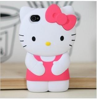 Dream Skin 3d Hello kitty Silicone super cute for your unique iphone 5 case cover