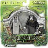 Lord of the Rings Saruman & Wormtongue Mini Mates