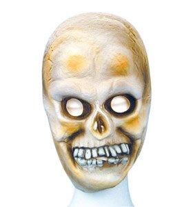 Imagen 1 de Child Size Rubber Skull Mask (máscara/ careta)