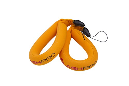 #1 Best Waterproof Floating Camera Wrist Strap (2 Camera Floats) For Waterproof Cameras, Marine Binoculars, And Camcorders - Save Digital Memories With Silky-Soft Neoprene Foam - Highly Effective When Used With Gopro Hero, Canon Powershot, Pentax, Panason
