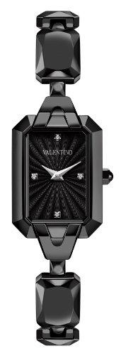 Valentino Women's V60SBQ6809IS110 Minigemme Black IP Bracelet Watch