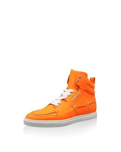 Dsquared2 Sneaker Alta [Arancione]