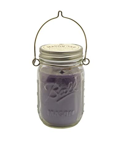 Northern Lights Candles Lavender Vanilla 12-Oz. Mason Jar Candle with Hanger