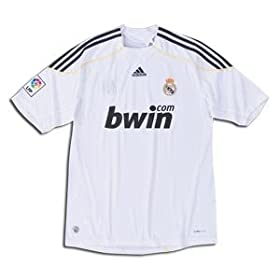 Real Madrid 09/10 Home Youth Soccer Jersey