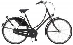 "Holland Nostalgie Damen \""Eco\"" Fahrrad, schwarz, 55 cm"