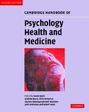 Cambridge Handbook of Psychology, Health and Medicine 2nd Edition Paperback