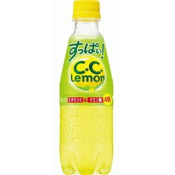 サントリー すっぱい!C.C.レモン PET330ml×24本入