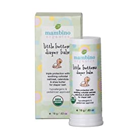 Mambino Organics Little Bottoms Diaper balm, .63 oz