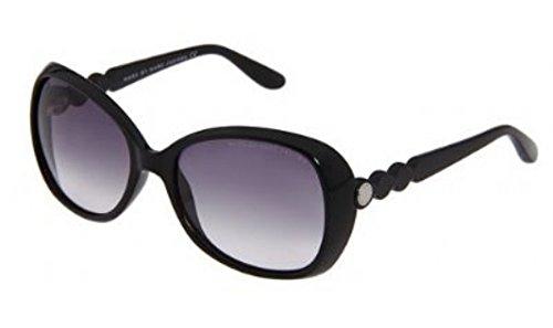 Marc JacobsMarc by MJacobs MMJ317/S Sunglasses-0D28 Shiny Black (JJ Gray Grad Lens)-56mm
