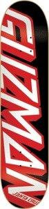 Santa Cruz Emmanuel Guzman Powerply Logo Skateboard Deck - 8