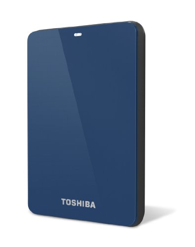 Toshiba Canvio 1.0 TB USB 3.0 Portable Hard Drive - HDTC610XL3B1 (Blue)