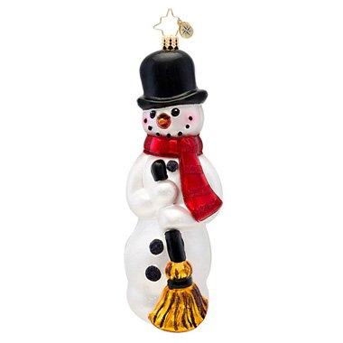 Christopher Radko Classic Christopher Radko Buttons Glass Christmas Ornament 2014