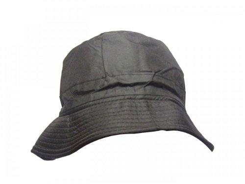 LADIES/MENS WATERPROOF BUCKET HAT BLACK